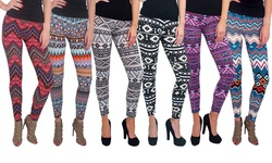 Magid Women's Soft Printed Leggings - Assorted - Size: Large/XL