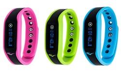 Everlast TR3 Waterproof Bluetooth Fitness Activity Tracker Watch: Pink