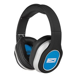 Altec Lansing MZX656-BLUE Foldable Headphones, Blue