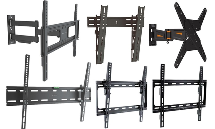 gforce dual arm tv wall mount for most 13 42 led lcd tvs black check back soon blinq. Black Bedroom Furniture Sets. Home Design Ideas