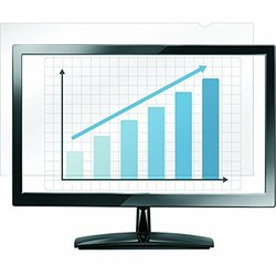 """Fellowes PrivaScreen Blackout Display Privacy Filter - 18.5"""" Wide Black"""