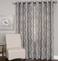 Elrene Medalia Grommet Top Curtain Panel - N/A-108 Inches - Tan 828836
