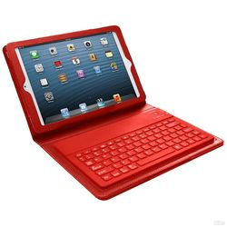 MegaGood Bluetooth Keyboard Case For iPad Mini Red (93583935M)