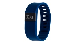 Z Activity Fitness Tracker Watch With Call And Message Reminder: Navy Blue