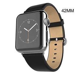 Waloo Apple Watch Replacement Band - Black - Size: 42mm