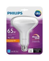 Philips 65W Equivalent Soft White BR40 Glow Light Effect LED Light Bulb 833022