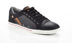 Marco Vitale Men's Fashion Sneakers - Black - Size: 9