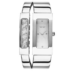 So & Co New York Women's Bangle Watch: Gp16072 Silver Band