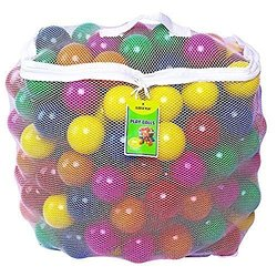 Click N' Play Ball-Pit Balls (400-Count) with Storage Bag