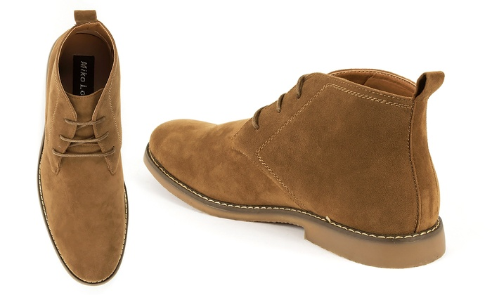 1efeb80a667 Miko Lotti Men s Desert Boot Chukkas - Taupe - Size  11 - Check Back ...
