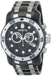 Invicta Men's Pro Diver Analog Display Swiss Quartz Two Tone Watch