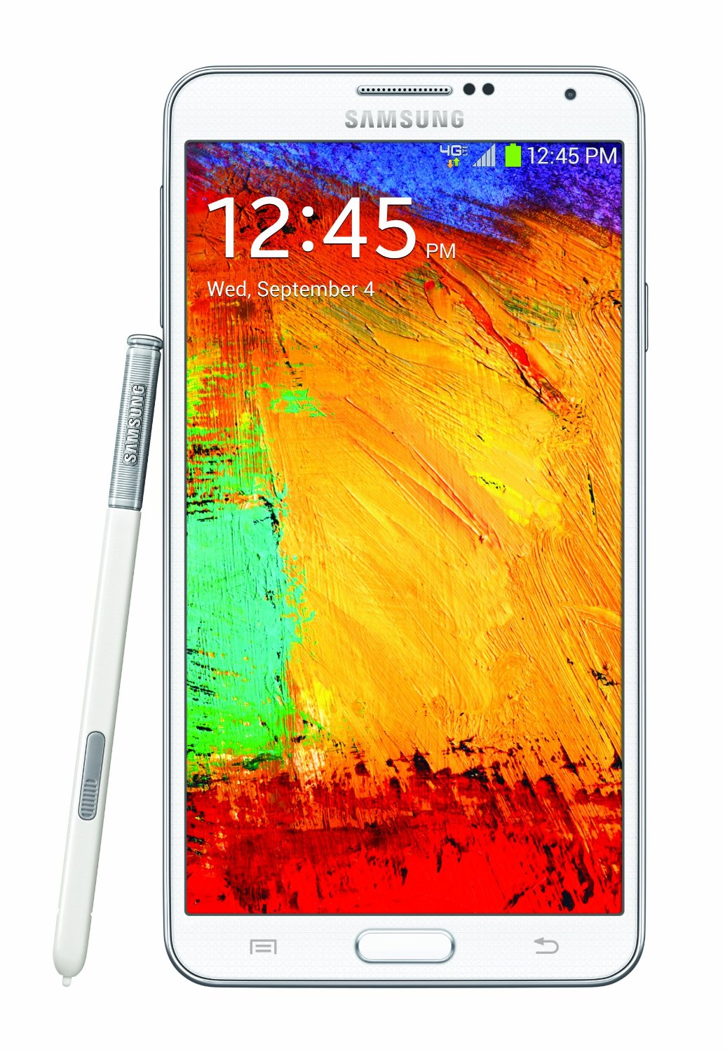 ff1b79dd75e Samsung Galaxy Note 3 Smartphone 32GB Android 4.3 White (SMN900VZWE) ...