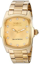 Invicta Men's 15854 Lupah Analog Display Japanese Quartz Gold Watch