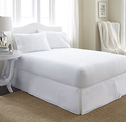 Merit Linens Premium Terry Cotton Waterproof Mattress Protector: Queen