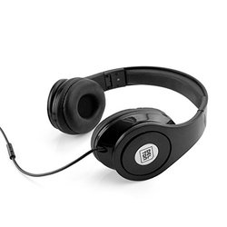 Sonic Wave 1000 Dj Headphones: Black