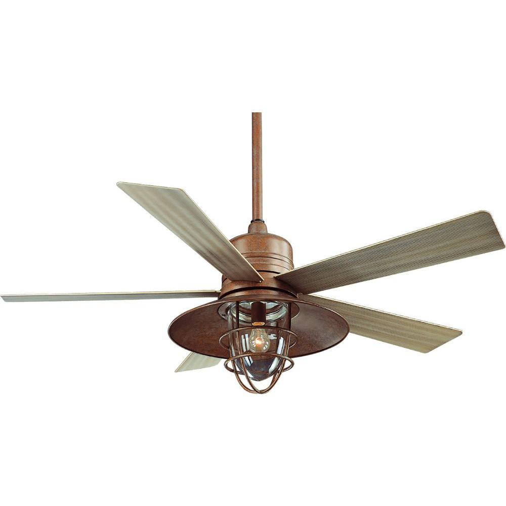 hampton bay 34342 metro 54 in rustic copper indoor outdoor ceiling rh blinq com hampton bay outdoor ceiling fans wet rated hampton bay outdoor ceiling fans parts