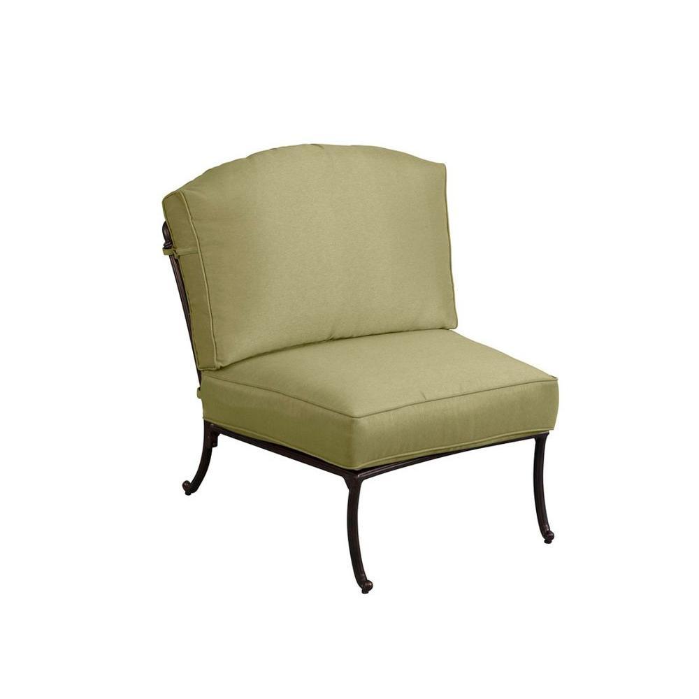 Superb Hampton Bay Edington Armless Middle Center Patio Sectional Cjindustries Chair Design For Home Cjindustriesco