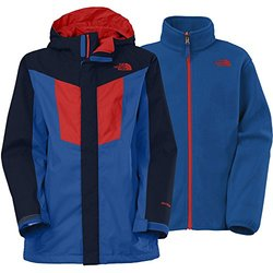 The North Face Boy's Vortex Triclimate Jacket - Blue - Size: XL 18/20