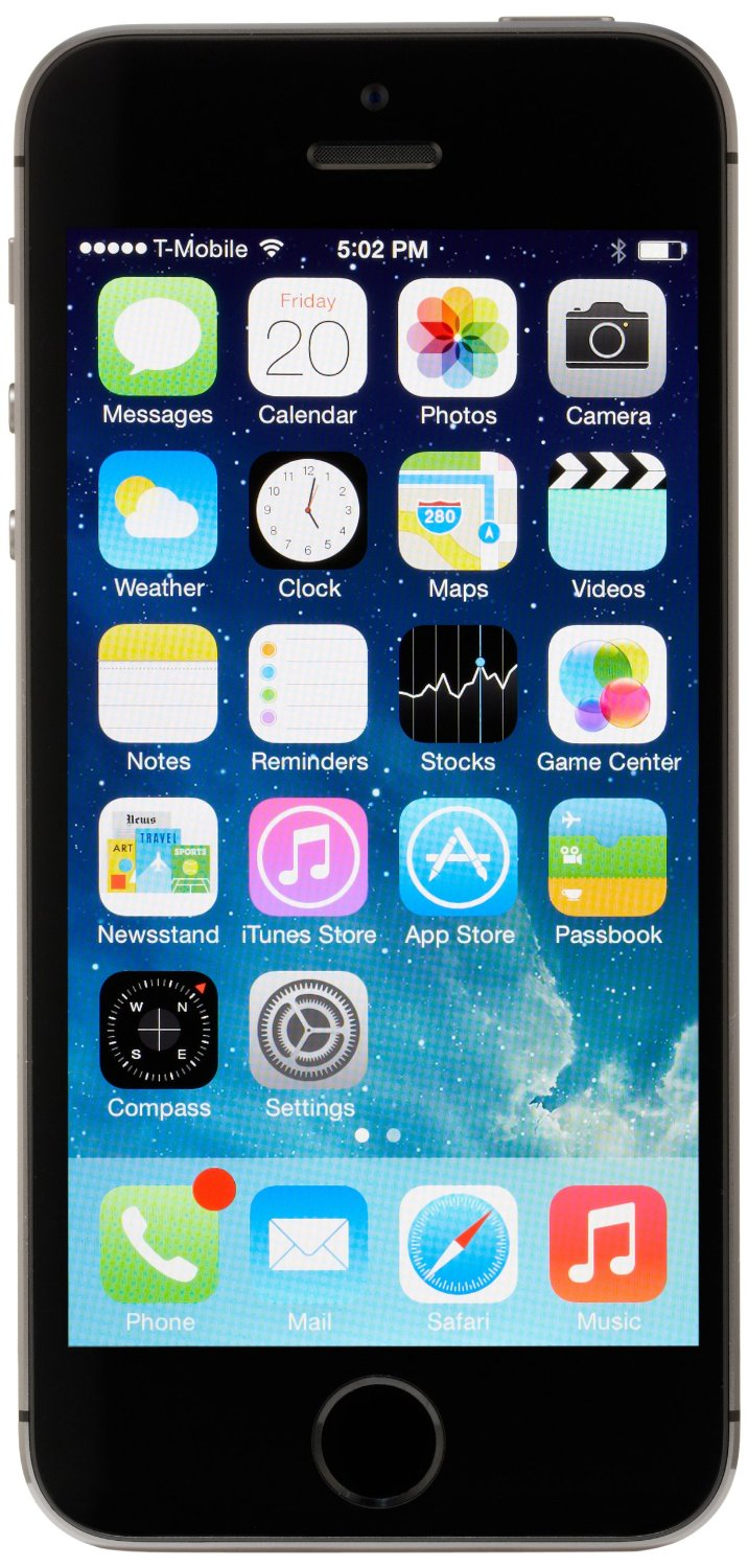 Apple Iphone 5s Smartphone 32gb Ios 7 Sprint Space Gray Me353ll A 5 Certified Pre Owned