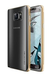 Ghostek Cloak Slim Protective Case for Samsung Galaxy Note 5, Gold