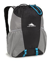 High Sierra Pack-N-Go 2 15L Pack in a Bottle - Black/Charcoal/Pool