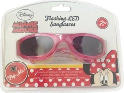 Light Up Kids Characters Led Sunglasses: Minnie Mouse