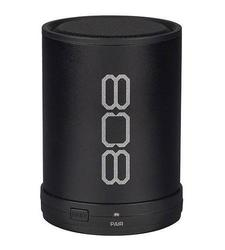 "808  Canz Bluetooth Speaker 2.36""H x 2.36""W x 2.36""D Black Black"