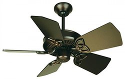"""Craftmade 30"""" Piccolo Ceiling Fan Base Only - Oiled Bronze (Blades By Seperately)"""
