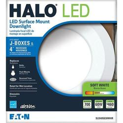 Halo Sld405830whr 4 In Matte White Recessed Led 3000k