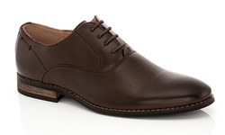 Franco Vanucci Mens Andrew Lace Up Dress Shoes - Brown - Size: 10.5