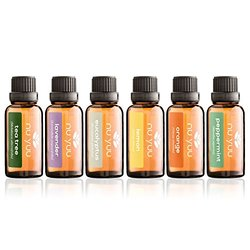 Nu Yuu 6 Pack of Top Selling 100% Pure Therapeutic Grade Essential Oils