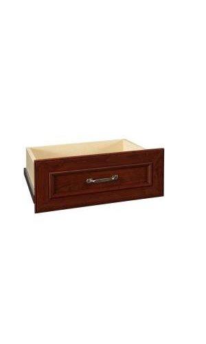Dark Cherry Wide Deluxe Drawer Kit ClosetMaid Impressions 25 In. Dark  Cherry Wide Deluxe Drawer Kit ...