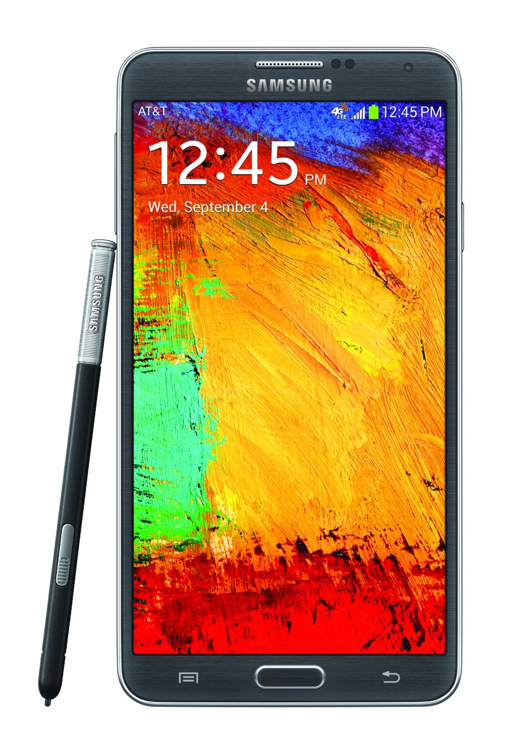 Samsung Galaxy Note 3 Smartphone 32gb Android 43 Black Infinite 4 Inch Display 41 Jellybean Dual Core 12 Ghz Processor