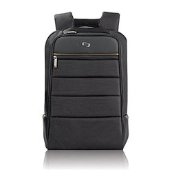 "SOLO Pro 15.6"" Laptop Backpack Black"
