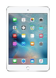 "Apple iPad Mini 4 7.9"" Tablet 64GB Wi-Fi - Silver (MK9H2LL/A)"