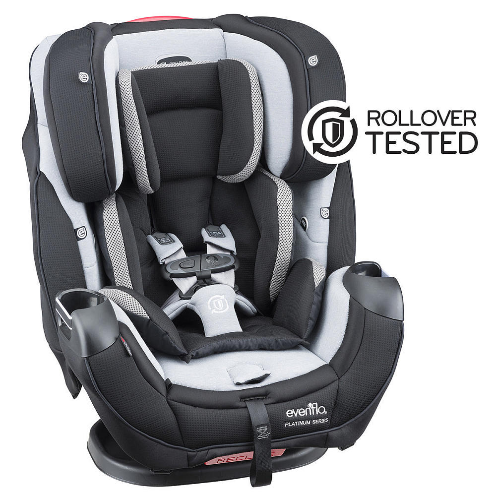 Evenflo Platinum Symphony DLX All in One Convertible Car Seat ...