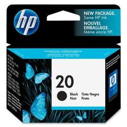HP Genuine 20 Ink Cartridge for 610C 612C 630 648 Color Black (C6614D)