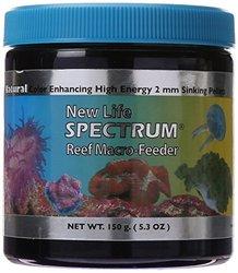 New Life Spectrum INVERTEBRATE: Reef Macro Feeder 2mm Sinking 125gm