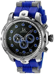 Joshua & Sons Men's Silicone Strap Watch: Jsgp71bu/blue Band
