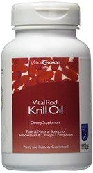 Vital Red Krill Oil 1,000 mg 60 Sgels