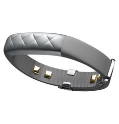 JAWBONE Fitness Tracker: UP3-Silver Cross/One Size