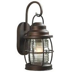 HDC HDP11987 Harbor 1-Light Outdoor Small Wall Lantern - Copper