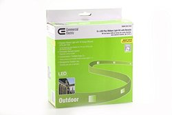 CE DC5185WH-A 8' LED Flexible Indoor/Outdoor Under Cabinet Tape Light Kit