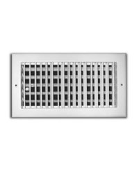 "TruAire 14"" x 8"" Adjustable 1 Way Wall/Ceiling Register (H210VM 14X08)"