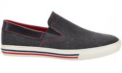 Solo Men's Slip-On Fashion Sneakers - Black - Size: 12
