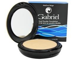 Gabriel Cosmetics Dual Powder Foundation 0.32 oz - Beige - Size: Medium