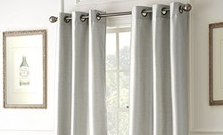 Black Out Curtains: Silver (2-Pack)