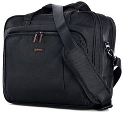 Elevate Slim Briefcase - Black