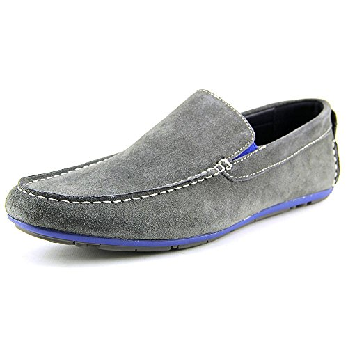 a89891c2df28 ... Joseph Abboud Justin Men's Loafer Shoes Justin - Grey Suede - Size: ...