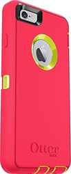 OtterBox Defender Series Case for iPhone 6 Plus- Citron Green/Blaze Pink